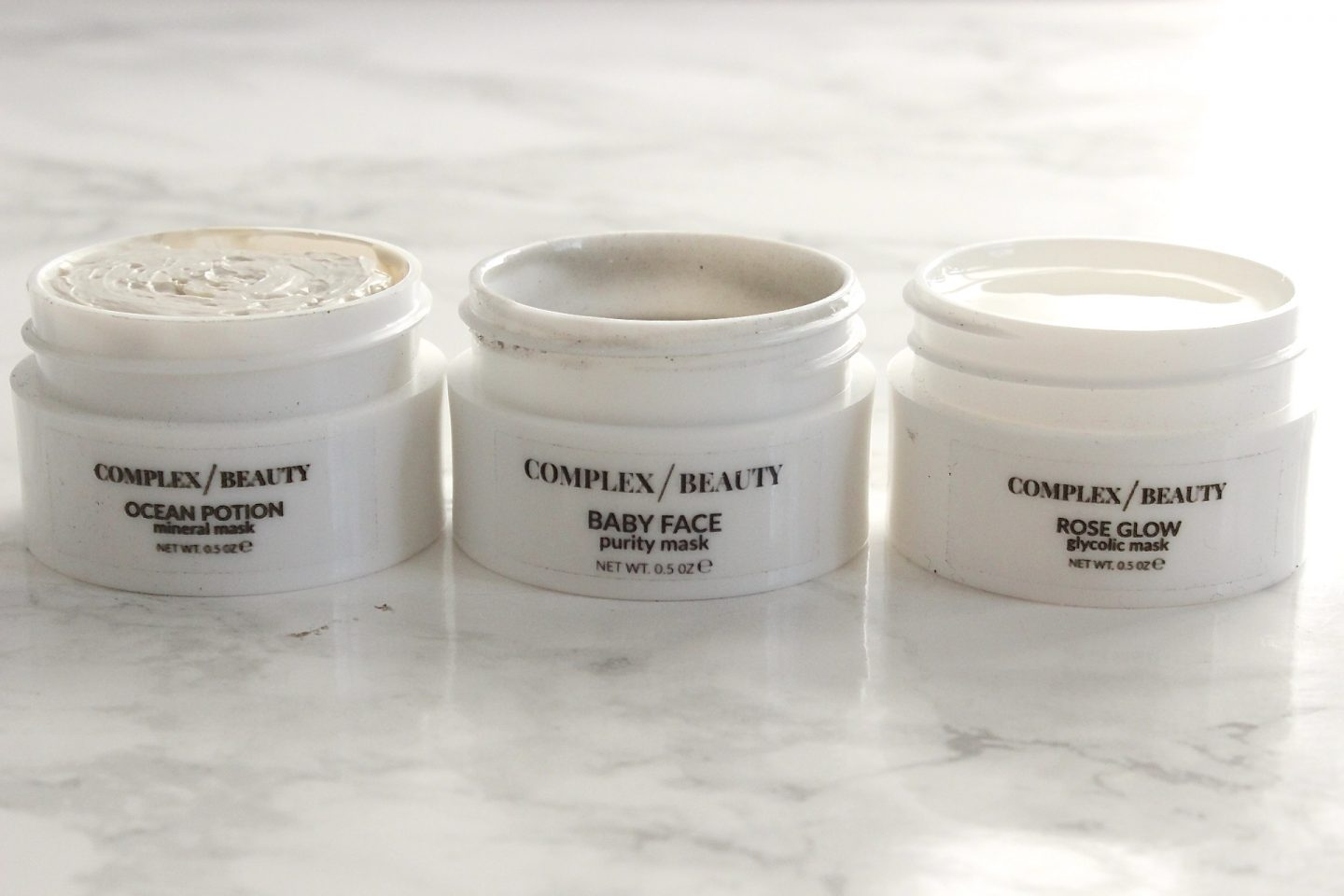 Complex Beauty Face Masks