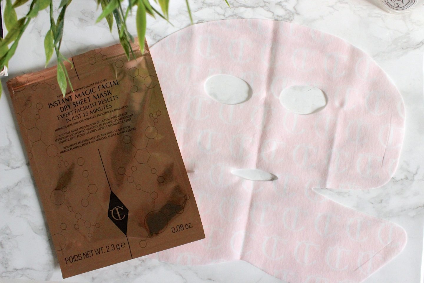 Charlotte Tilbury Instant Magic Facial Dry Sheet Mask
