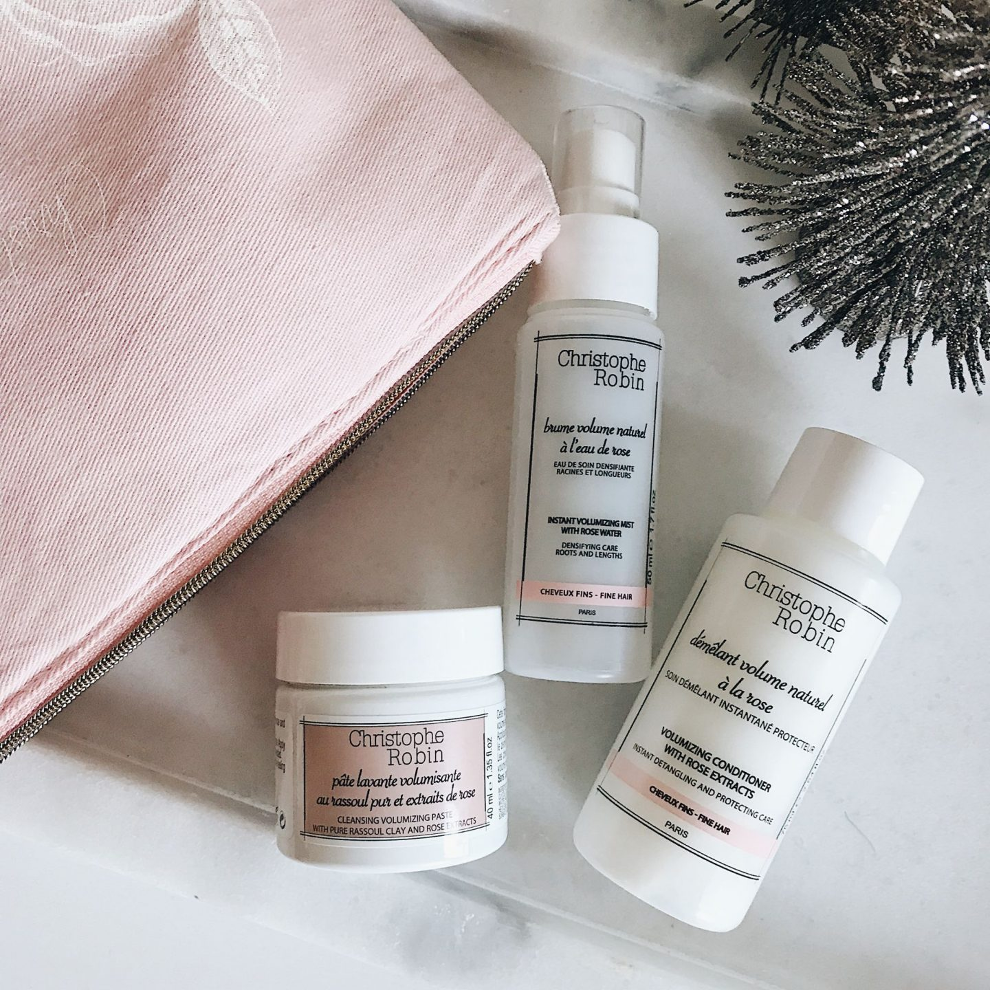 Christophe Robin Volumizing Hair Care Set